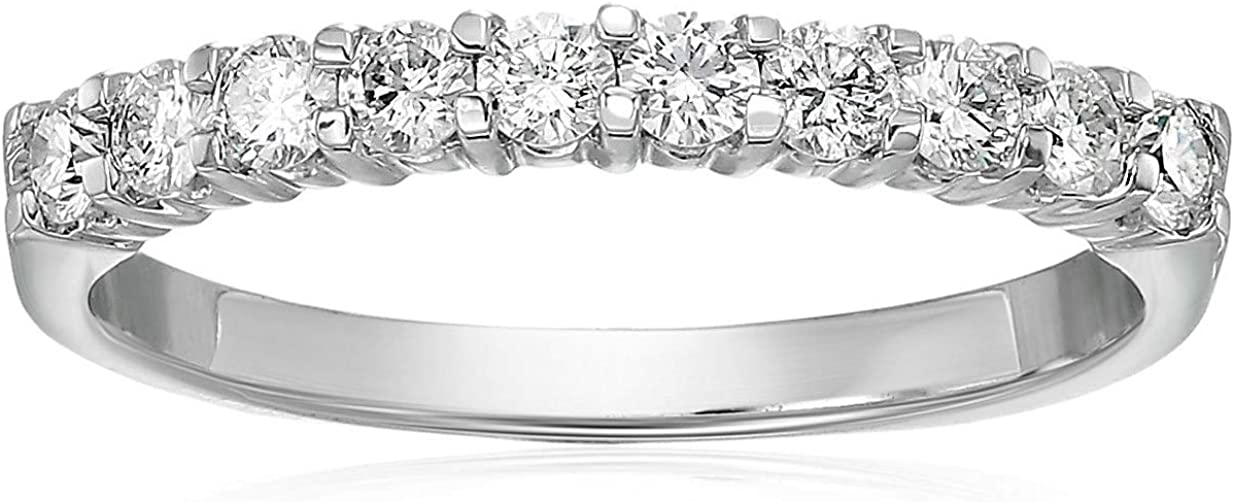Vir Jewels Sale price 1 2 cttw online shopping Certified SI2-I1 Band 14K Wh Wedding Diamond