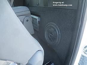 2014-2017 Chevy Silverado / GMC Sierra Regular Cab Subwoofer Box With Amp Space