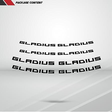 Matt Gelb Motorrad Inner Rim Tape Decal Aufkleber Für Suzuki Gladius Auto
