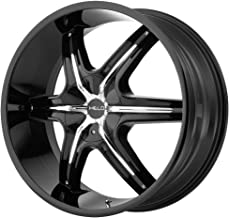 Helo HE891 Gloss Black Wheel Chrome and Gloss Black Accents (24x9