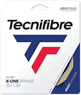 Tecnifibre X-One Biphase Tennis String Natural (16G Natural)