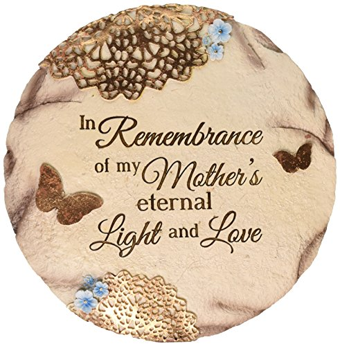 Pavilion Gift Company 19069 'Remembering Mother' Memorial Garden Stone, 10-Inch