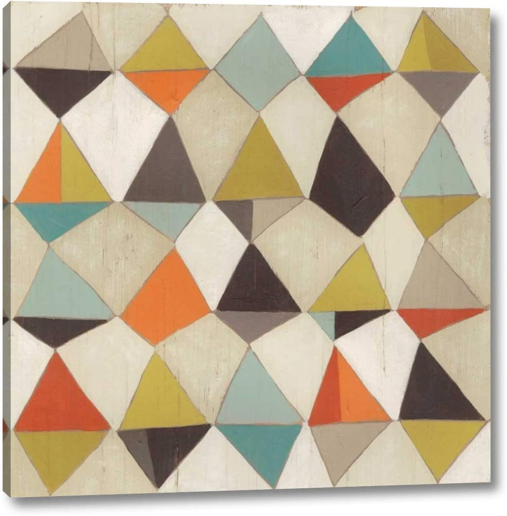 Pattern Industry No. 1 Undulation III by June Erica 1 year warranty Gallery Wrap x 36