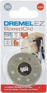 Dremel S545 Disque diamant à tronçonner EZ SpeedClic Diamètre 38mm pour la découpe de la faience, porcelaine, céramique av...