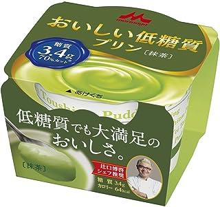 森永 おいしい低糖質プリン 抹茶75g 10個