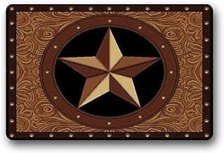 ZMvise Rubber Homie Design Western Texas Non Slip Rubber Entrance Door Mat Washable Doormats Bath Kitchen Decor Area Rug I...
