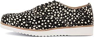 WALNUT Mila Pony LACE UP Womens Shoes Flats Shoes