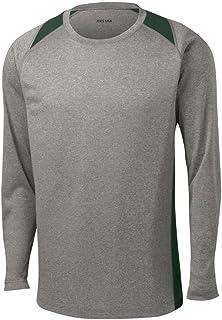 قمصان رياضية بأكمام طويلة من Joe's USA تمتص الرطوبة بمقاس عادي، كبير وطويل