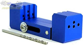 PRO Driller Tool for use in Pinewood Derby Cars - Straight Axle Holes - 2.5 Degree Axle Holes - Raised Wheel Hole