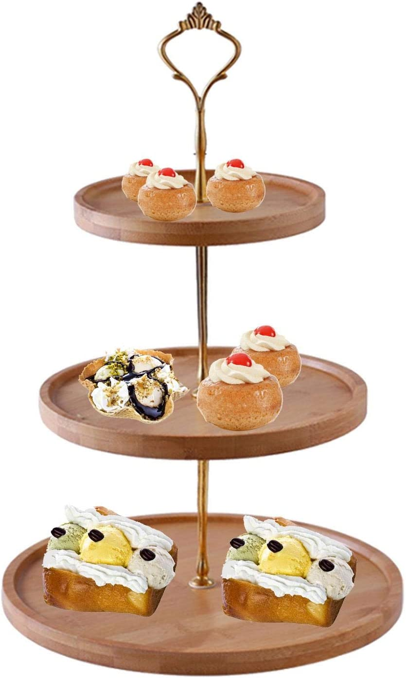 3 free Tier Cupcake Stand and Serving Tray,Tiered Milwaukee Mall Tray f