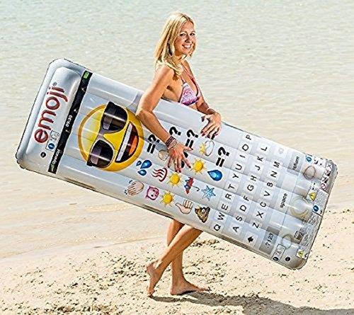 Luftmatratze -Matratze - der ultimative Badespaß / Insel für ideale Urlaubsstimmung / Schwimmmatratze / Relaxen auf der Luftmatratze / im Handy Design - Maße ca. 170 x 60 cm