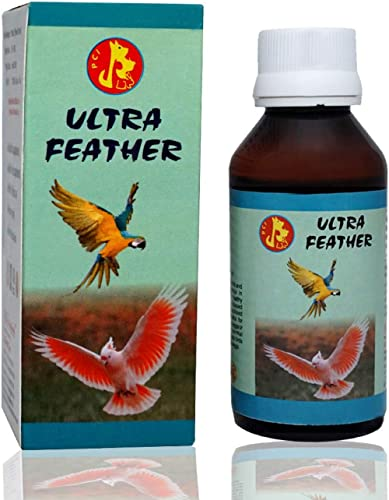 Pet Care International Ultra Feather to Provide Healthy Feathers for Bird Wings (100 Ml)