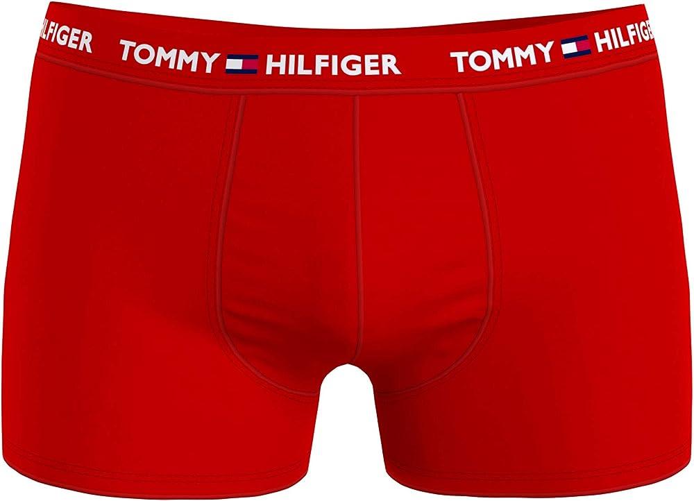 Tommy hilfiger trunk,boxer intimo per uomo,in cotone elasticizzato UM0UM01659