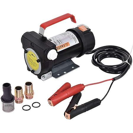 Goplus Electric Fuel Pump 12V 10GPM Diesel Bio Kerosene Oil Transfer Extractor
