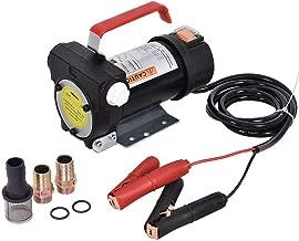 GOFLAME12V Electric Fuel Pump 10GPM Bio Diesel Kerosene Fuel Oil Transfer Extractor Self-priming Pump