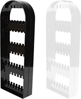 TOPBATHY 2pcs Jewelry Hanging Tree Stands Plastic Jewelry Display Organizers Racks for Necklace Earrings and Rings Desktop...