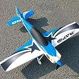 Zhouzl Avions RC Dynam DY8965PNP Rapide 635mm Wingspan Race Avion Modèle, Version PNP Avions RC