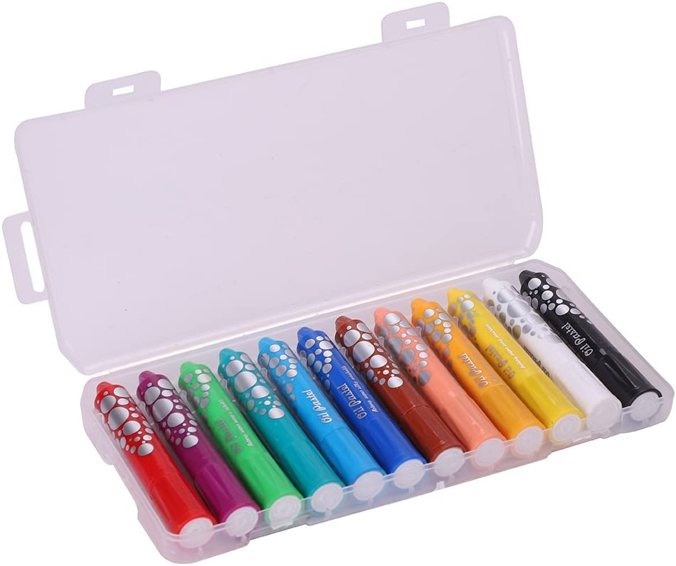 Colored Oil San Francisco Mall Pastel Set Popular popular 12 Pack Color Assorted Water Soluble Non