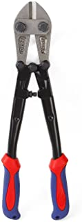 """WORKPRO W017004A Bolt Cutter, Bi-Material Handle with Soft Rubber Grip, 14"""", Chrome.."""