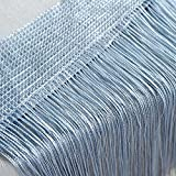 ToDIDAF String Gardinen Vorhang, Patio Net Fringe für Tür Fliegengitter Windows Divider zugeschnitten, 1 Stoffbahnen für Zuhause Wohnzimmer Schlafzimmer Dekoration, 50 x 250 cm (H)