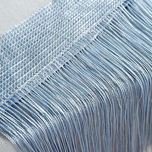 Litale 1 Stück Fadengardine Kreativer gerader Vorhang Anti-Moskito-Mehrfarbenvorhang Fransenvorhang hochwertige Qualität Fadenvorhang Fadenstore Schlafzimmer Korridor Türvorhang Vorhang