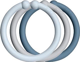BIBS Loops | Made in Denmark | Baby Blue/Cloud/Petrol |...