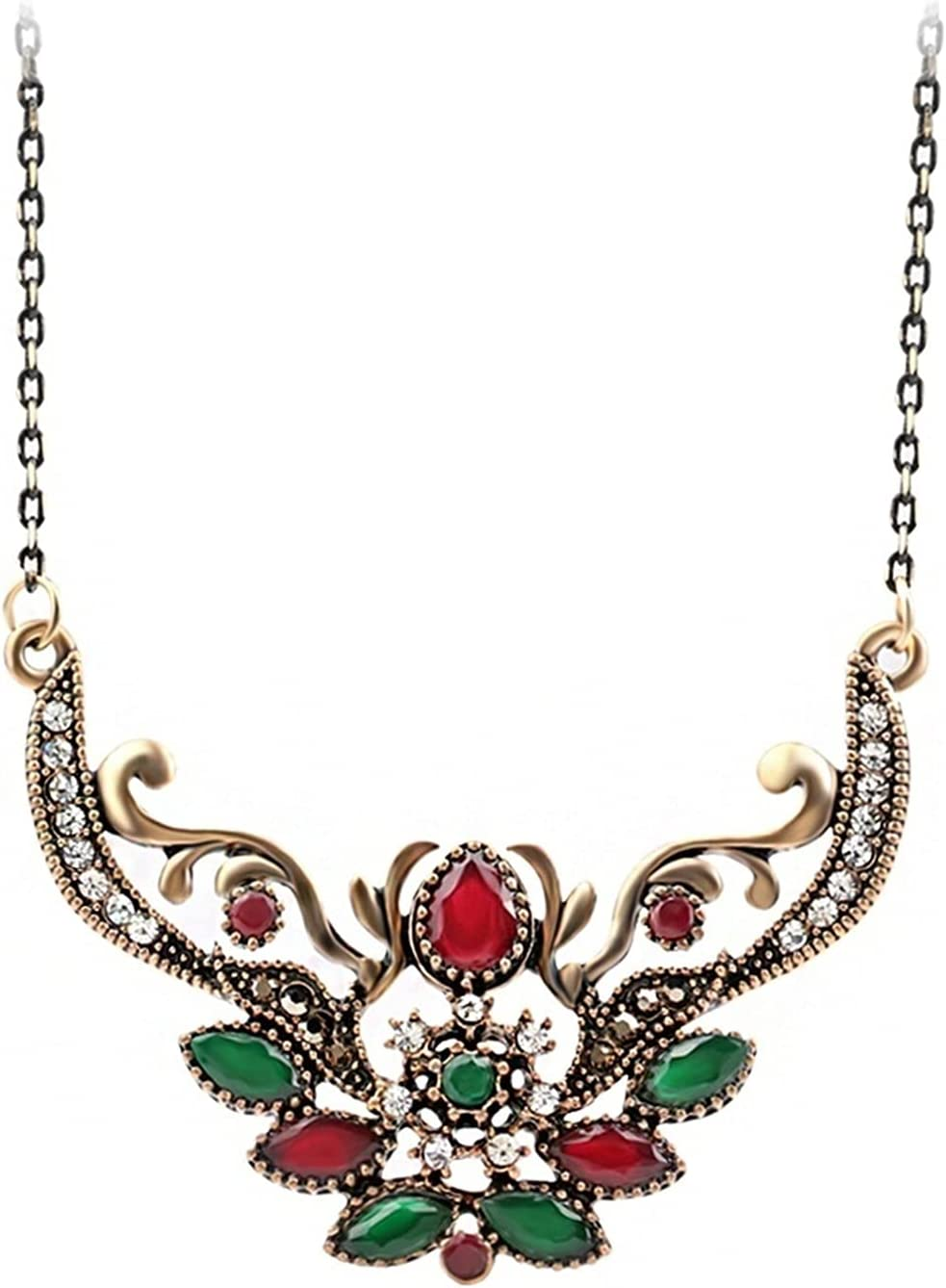 JIAF Necklace Vintage Jewelry Fashion Indian Pendant Necklace fo