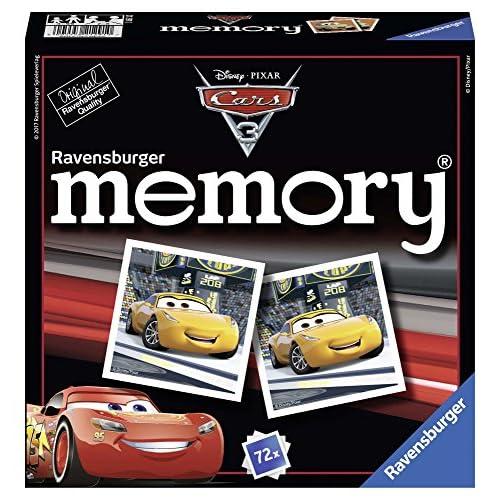 Ravensburger Italy Memory Cars 3, 21291 0, Modelli/Colori Assortiti, 1 Pezzo