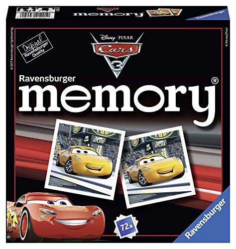 Ravensburger 212910 Disney Cars 3 Memory Disney Cars 3