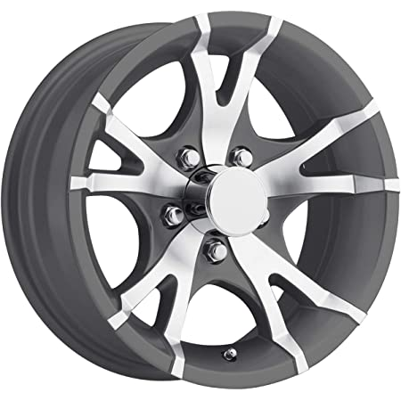 Vision 353 Turbine Trailer 15x6 5x5 0mm Gunmetal Wheel Rim 15 Inch