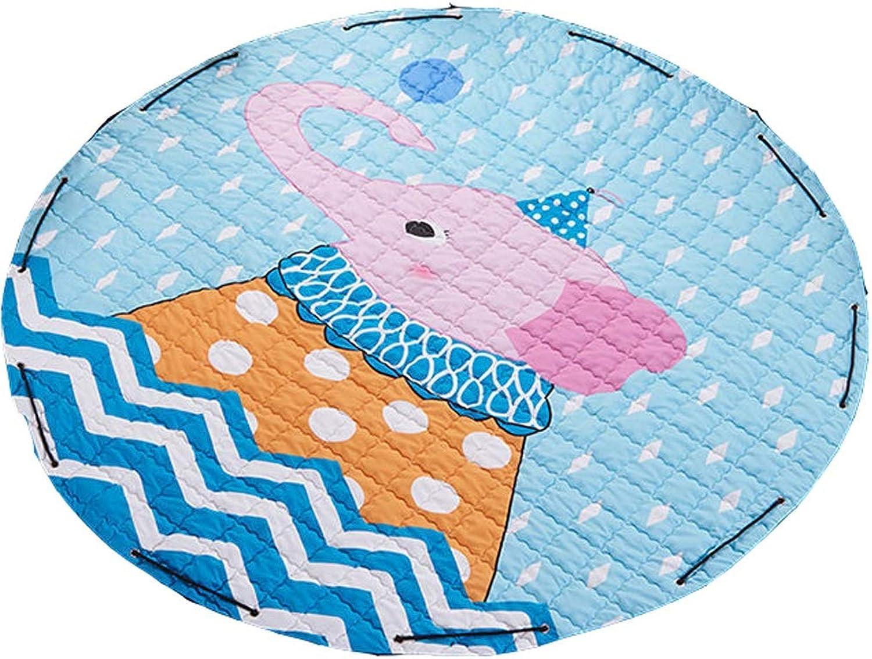 marcas de diseñadores baratos YYF-Alfombra YYF-Alfombra YYF-Alfombra rojoonda Manta de Almacenamiento de Tela doblada Manta de Escalada Infantil Manta de Arrastre para bebé Manta de Juego Ambiental Lavable a máquina (Color   B)  tienda de venta