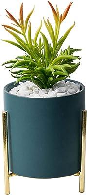 Elho 5641922115000 20 cm Bruxelles Round Vaso di fiori-Bianco