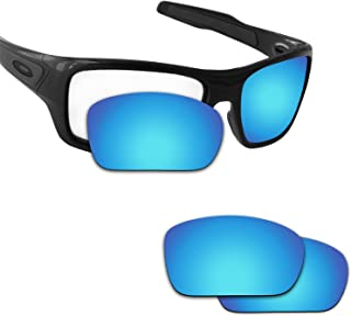 Fiskr Anti-saltwater Polarized Replacement Lenses for Oakley Turbine Sunglasses
