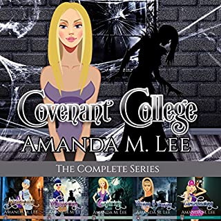 Covenant College     The Complete Series              By:                                                                                                                                 Amanda M. Lee                               Narrated by:                                                                                                                                 Angel Clark                      Length: 36 hrs and 8 mins     118 ratings     Overall 4.3