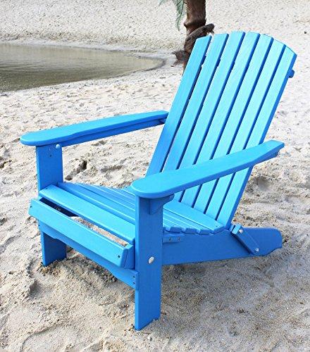 DanDiBo Strandstoel van hout, tuinstoel, inklapbaar, Adirondak, stoel, kleurrijk