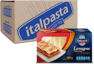 Italpasta Lasagne Tradicional, 500 g, 20 Paquetes