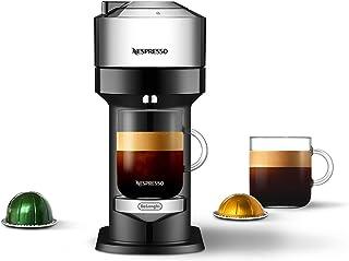 Nespresso Vertuo Next Deluxe Coffee and Espresso Machine NEW by De'Longhi, Pure Chrome, Single Serve Coffee & Espresso Mak...