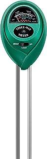 VIVOSUN Tester T خاک ، 3-in-1 رطوبت سنج گیاهی نور و PH تستر برای خانه ، باغ ، چمن ، مزرعه ، استفاده داخل و خارج از منزل ، ترویج گیاهان برای رشد سالم