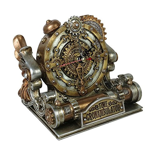 The Vault by Alchemy Time Chronambulator Desk Clock by Alchemy - The Vault