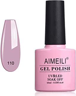 AIMEILI Soak Off UV LED Gel Nail Polish - Prunus persica (110) 10ml
