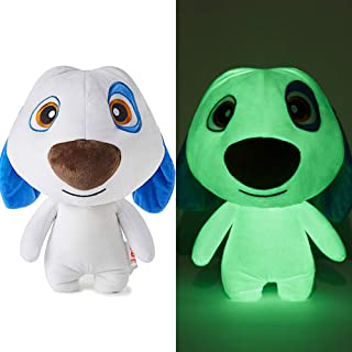 TALKING TOM AND FRIENDS Stuffed Animal Night Light Seal Glow Pets Plush Toys Cat Creative Night Light Lovely Glow Soft Plush Toy Luminous Toy Gifts for Kids Puppet(Hank, 11.8inches)
