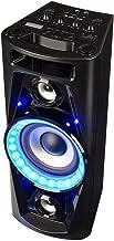 """auna UltraSonic Pulse V6-40 - Système Audio, Haut-Parleur soirée, Subwoofer de 5,5"""", 2 tweeters médium de 1,7"""", Puissance de 40 W RMS, Bluetooth, 2 Ports USB, AUX, Noir"""