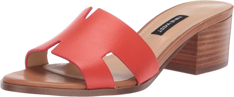 Nine West Womens Wnaubrey Heeled Sandal
