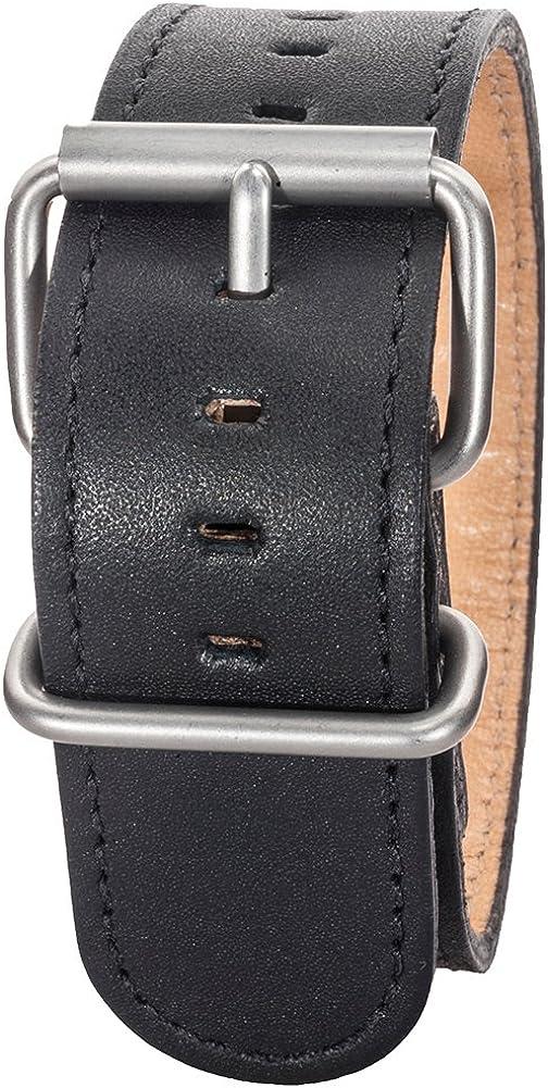 Bertucci B-132M Montanaro Survival Duration New life Leather Black 26mm Ranking TOP17 W