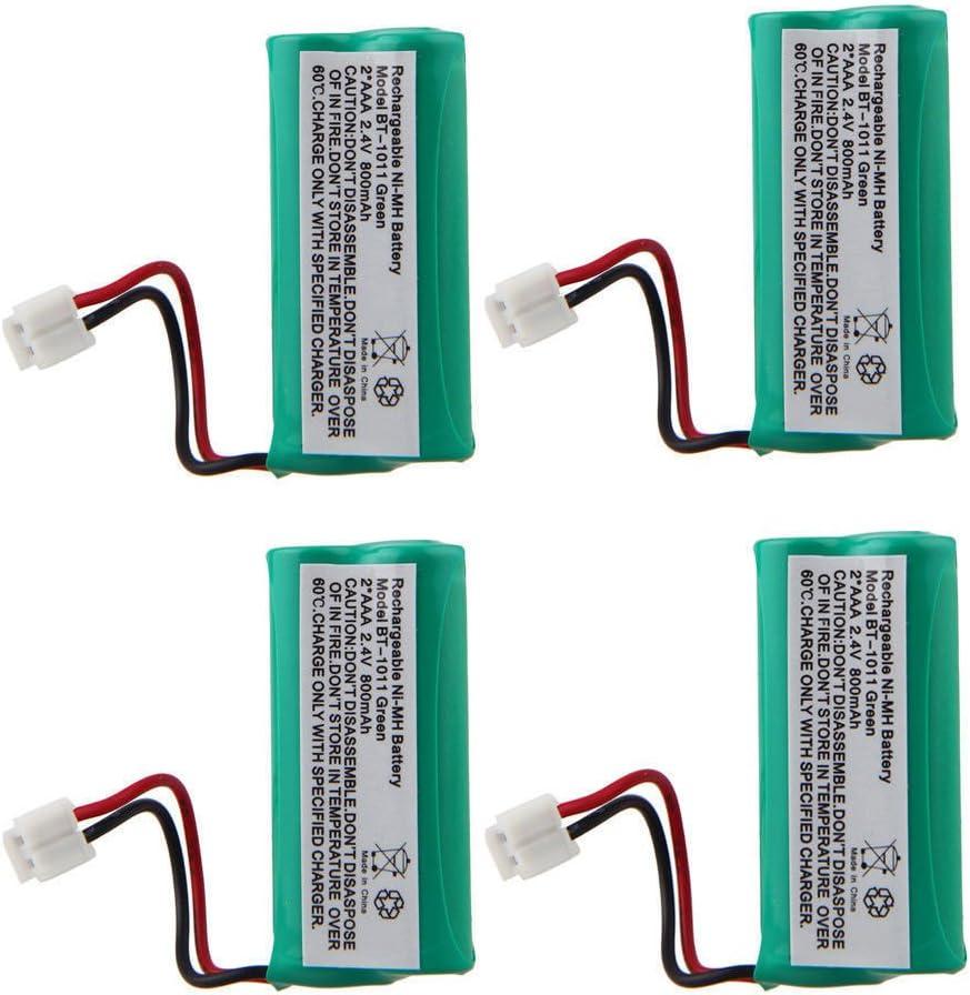 Super sale 4 x Telephone Battery for BT-1018 BT-1011 5 ☆ very popular BT1022 BT-1031 Uniden