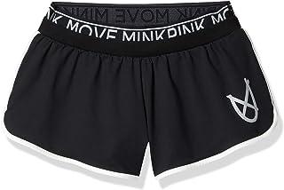 MinkPink Womens IA17S1039 The Dark Side Running Short Short - Black