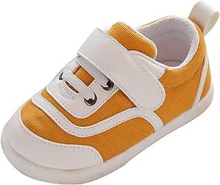 Sneaker Newborn Crib Shoes, Soft Sole Toddler, Breathable Mesh Shoes Running Children's Shoes Slip-On, Kindergarten Child Slip Shoes, FULLSUNNY