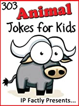 303 Animal Jokes for Kids: A Joke Book 3-Pack (Farmyard Animals, Wild Animals and Creepy Crawly Children's Joke Books) (Jo...
