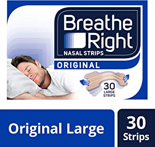 Breathe Right Snoring Congestion Relief Nasal Strips, 30