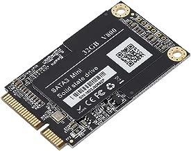 Tangxi 1.8 inch mSATA SSD, mSATA 32G/60G Internal Solid State Drive mSATA III/II/I Notebook Solid State Drive High Performance Hard Drive for Desktop Laptop(32G)